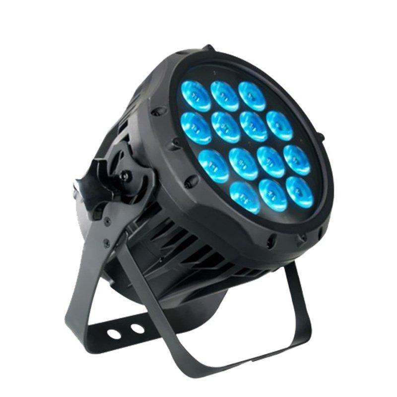 14PCS 12W RGBWA+UV 6 IN1 led outdoor light slim par